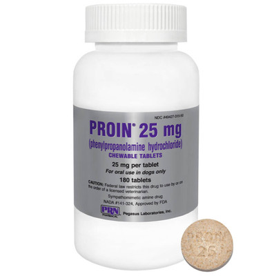 Proin Chewable Tablets for Dogs (25 mg)