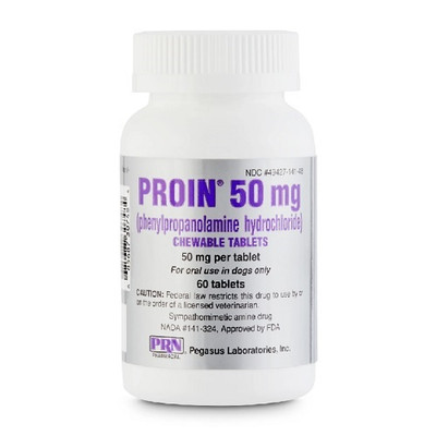 Proin Chewable Tablets for Dogs (50 mg)