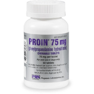 Proin Chewable Tablets for Dogs (75 mg)