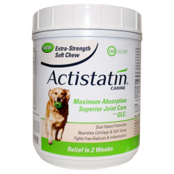 Actistatin Canine Extra Strength Soft Chews for Large Dogs (120 Count)