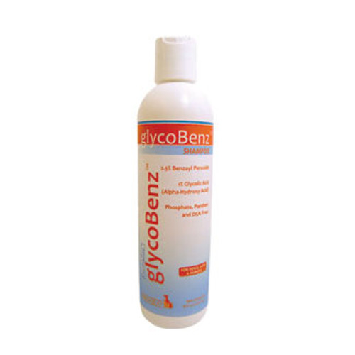 GlycoBenz Shampoo for Dogs, Cats, and Horses  (8 oz.)