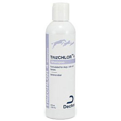 TrizCHLOR 4 Shampoo for Dogs, Cats & Horses (8 oz.)