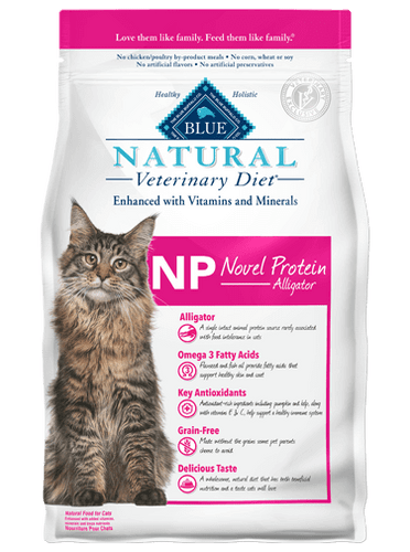 NP Novel Protein Alligator Dry Cat Food (7 lb)