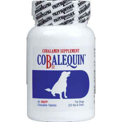 Cobalequin Chew Tablets for Dogs (Medium & Large)(45 Chews)