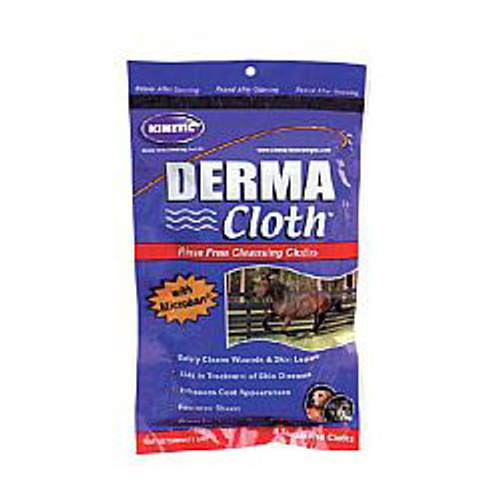 Derma Cloth - Rinse Free Cleansing Cloths for Horses
