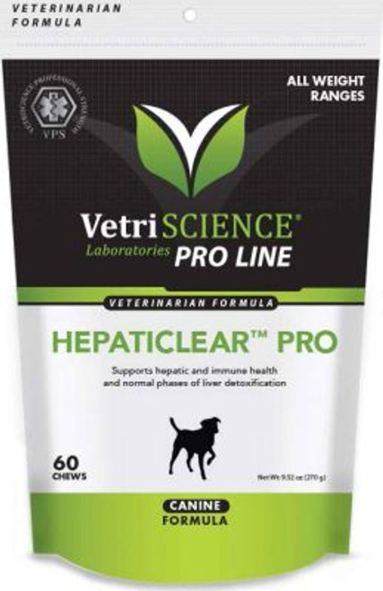 Hepaticlear Pro Liver Support Chews for Dogs