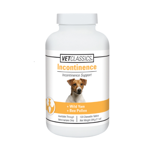 Vet Classics Incontinence Support Tablets for Dogs (120 count)