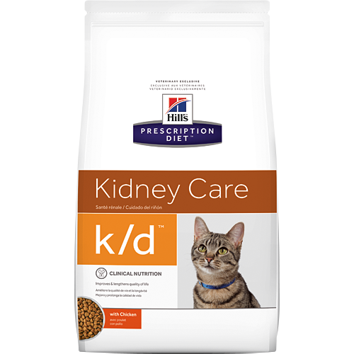 Kidney Care k/d with Chicken Dry Cat Food (4 lb)