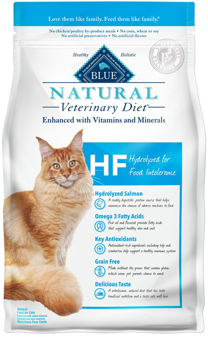HF Hydrolyzed for Food Intolerance Dry Cat Food (7 lb)