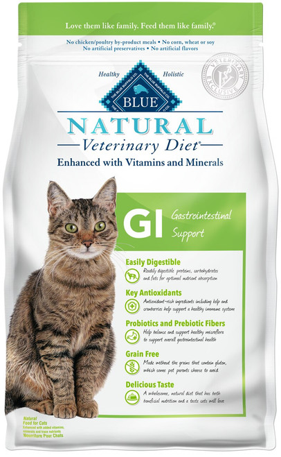 GI Gastrointestinal Support Dry Cat Food (7 lb)