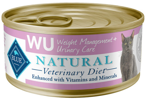 WU Weight Management + Urinary Care Canned Cat Food (24/5.5 oz Cans)