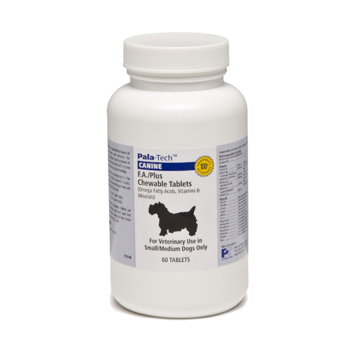 Canine F.A. Plus Chewable Tablets for Dogs (5 - 20 lbs, 60 count)