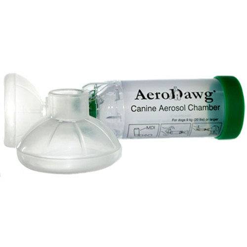 AeroDawg Aerosol Chamber (Large Dog, over 20 lbs)