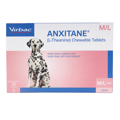 Anxitane M & L Chewable Tablets for Dogs (over 22 lbs, 30 ct.)