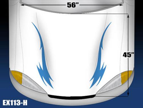 113-H Hood Decal