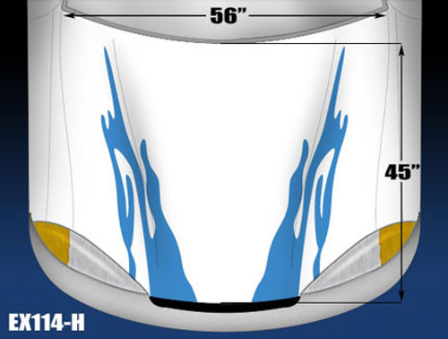 114-H Hood Decal