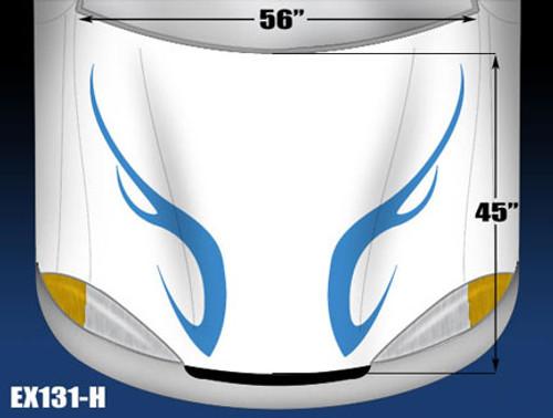 131-H Hood Decal