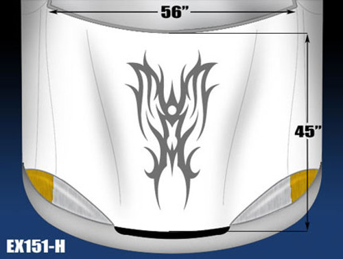 151-H Hood Decal