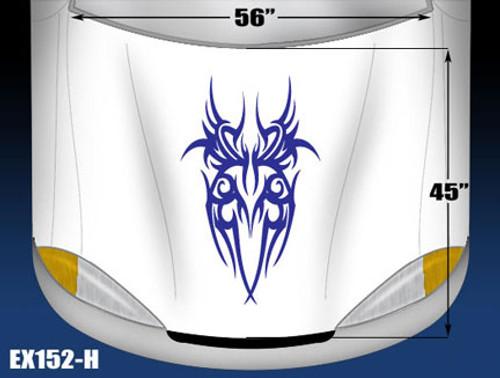 152-H Hood Decal