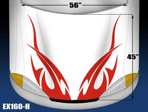 160-H Hood Decal