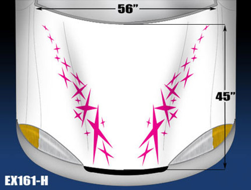 161-H Hood Decal
