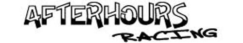 Afterhours Racing Windshield Decal
