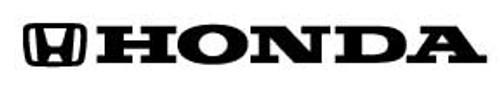 Honda-0 Windshield Decal