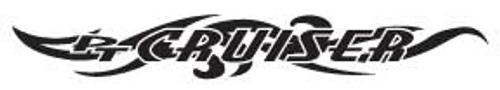 PT Cruiser-7 Windshield Decal