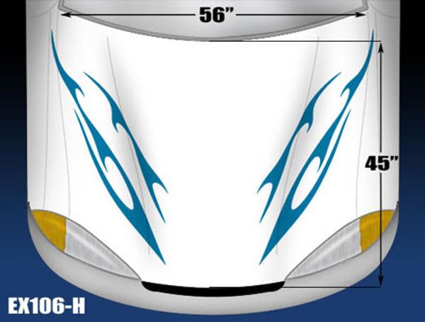 106-H Hood Decal