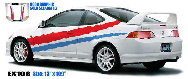 108 Two Color Stripe