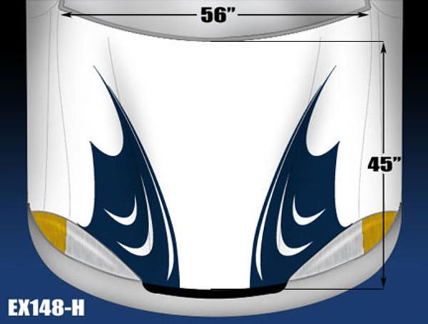 148-H Hood Decal