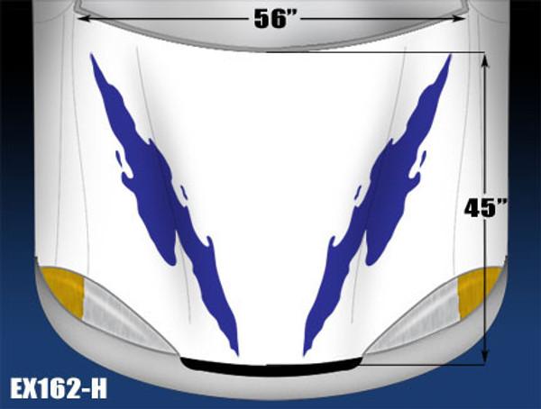 162-H Hood Decal