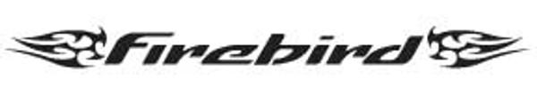 Firebird-5 Windshield Decal