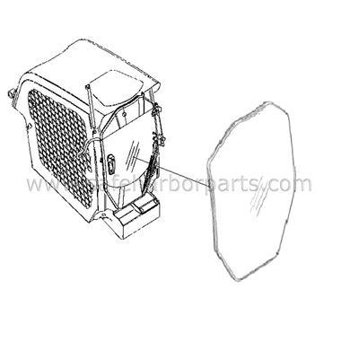 CAT - Cab Glass - Skidsteers - Safe Harbor Parts