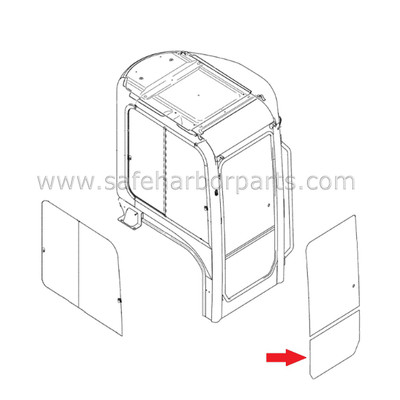 Kobelco - Cab Glass - Page 1 - Safe Harbor Parts