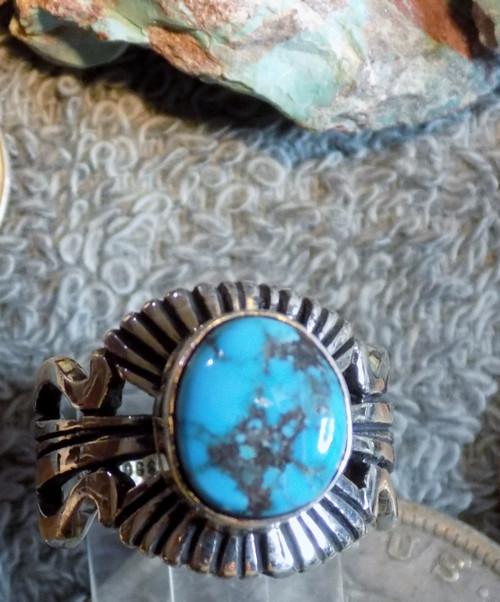 Bisbee Blue Turquoise Arizona SDavidJewelry.com