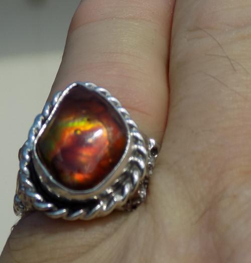 Gem Grade Fire Agate www.sdavidjewelry.com