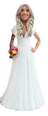 Lisa Bride Cake Topper Figurine