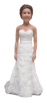 Sadie Bride Cake Topper Figurine