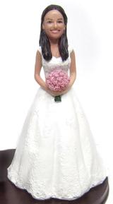 Alexis Bride Cake Topper Figurine