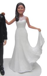 Selena Bride Cake Topper Figurine