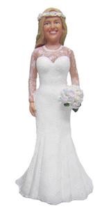 Emilia Bride Cake Topper Figurine