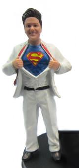 Superhero Bride Cake Topper Figurine