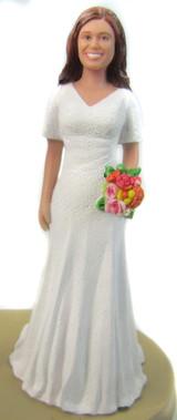 Jessa Bride Cake Topper Figurine