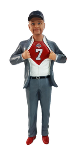 Big & Tall Superhero Groom Cake Topper Figurine