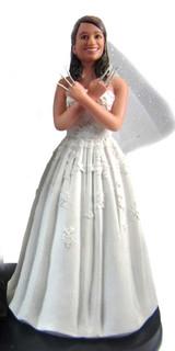 Wolverine Bride Cake Topper Figurine