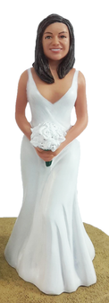 Jennifer Bride Cake Topper Figurine