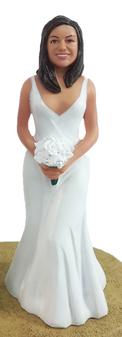 Jennifer Bride Cake Topper Figurine