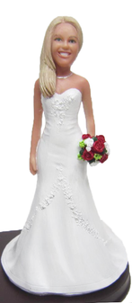 Christy Bride Cake Topper Figurine