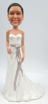 Chloe Bride Cake Topper Figurine